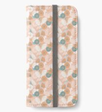 Abstarct Poppies iPhone Wallet/Case/Skin