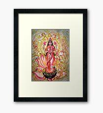 Lakshmi Darshnam Framed Print
