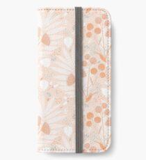 Pastel pink Tropicals iPhone Wallet/Case/Skin