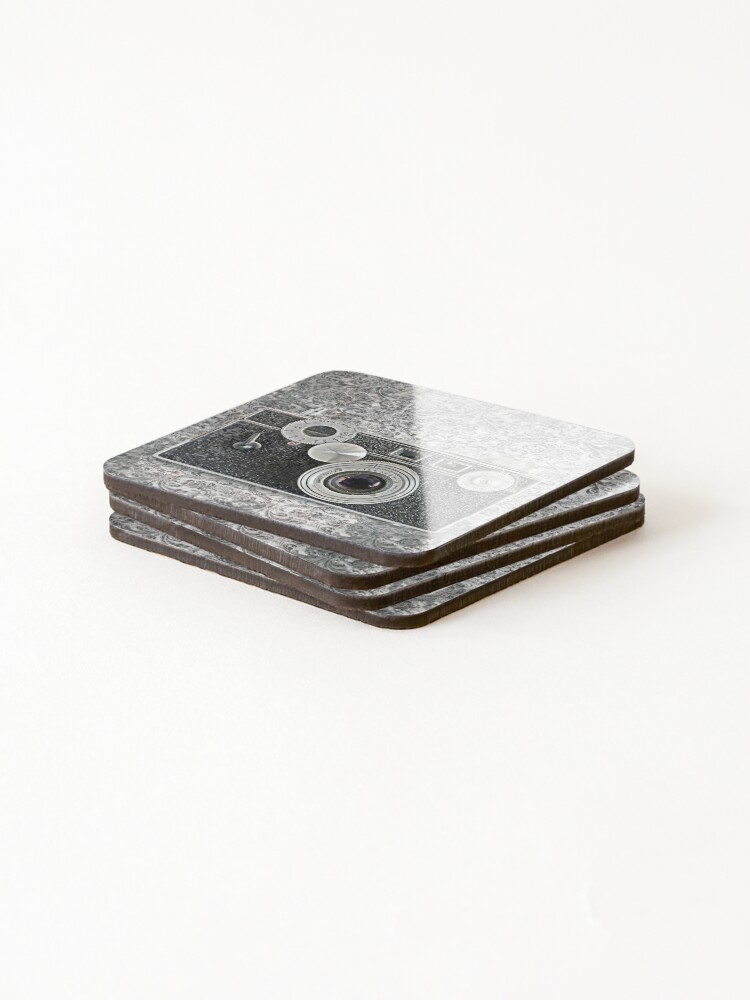 Alternate view of Argus Camera - Vintage Black and White Coasters (Set of 4)