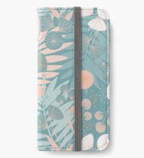 Green Pastel Floral iPhone Wallet/Case/Skin