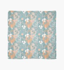 Green Pastel Floral Scarf