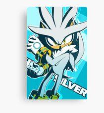 Silver The Hedgehog Canvas Print