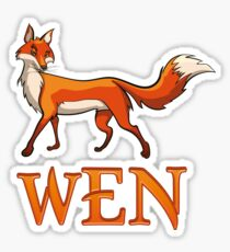 Wen Fox Sticker