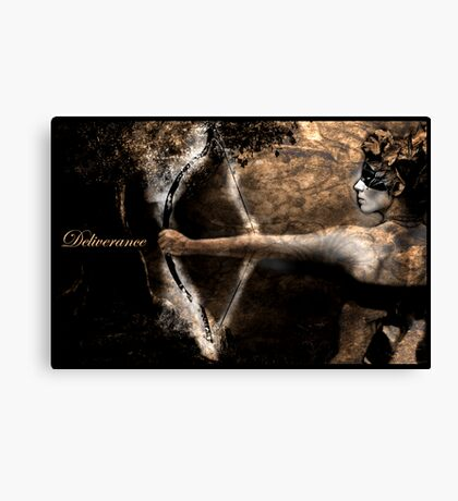 Prayer Warrior Canvas Print