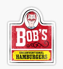 Unconventional Burgers Sticker