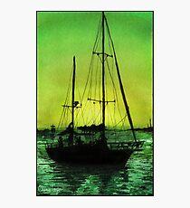 Sunrise Sailing Print Photographic Print