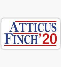 Atticus Finch 2020! Sticker