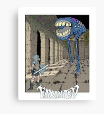 Faxanadu - NES Tribute Series 1 Canvas Print