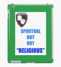 NOT RELIGIOUS BUT... iPad Case/Skin