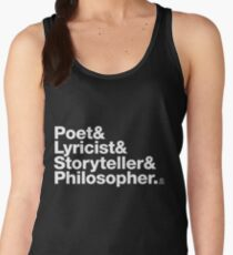 Ampersand Song Writer Women's Tank Top
