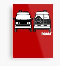 ROAM  Syncro 4x4 Dirtbag Motel Metal Print