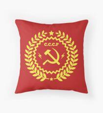 Kommunismus-Symbol-Hammer und Sichel Dekokissen