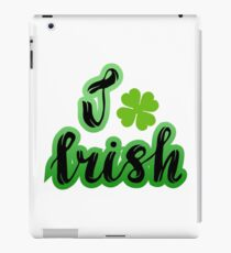 Saint Patrick's day motifs iPad Case/Skin