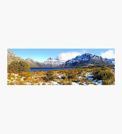 Cradle Mountain across Dove Lake. Tasmania Photographic Print