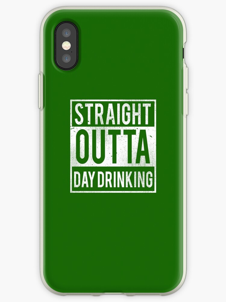 Straight Outta Day Drinking T-Shirt Funny  Funny Drinking Gift Shirt by TheTeeSupplyCo