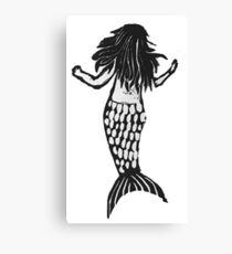 Mermaid Print Canvas Print