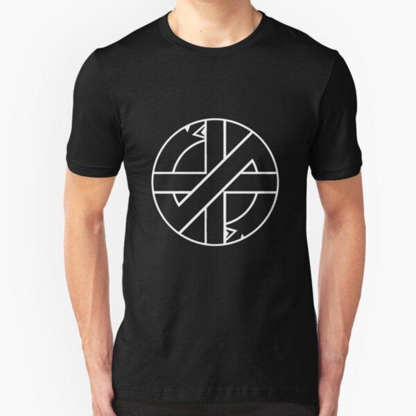 CONFLICT PUNK ROCK RETRO ICONIC LOGO Men/'s T-Shirt
