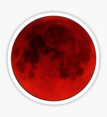 Mangekyō Blood Moon Sticker