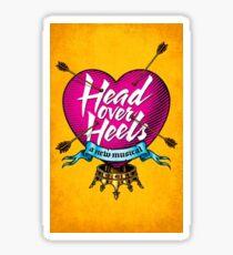 Head Over Heels Broadway Sticker