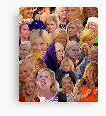 Leslie Knope Parks And Rec Canvas Print