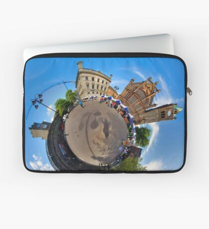 Walled City Market, Guildhall Square, Derry Laptop Sleeve