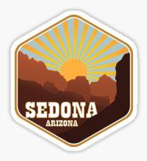 Sedona Arizona Badge - Alternate Sticker