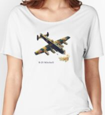 Bomber B-25 Mitchell WWII Vintage Women's Relaxed Fit T-Shirt