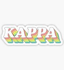 rainbow 3D 1.0 - kappa Sticker