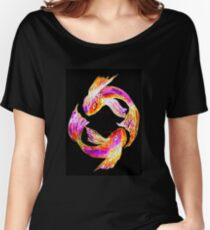 Night 'Tails' - Koi Women's Relaxed Fit T-Shirt
