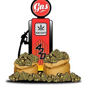 Gas Up! by kushcoast