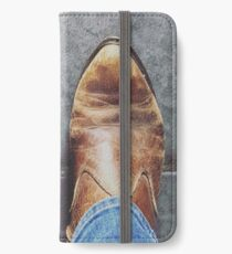 One step at a time iPhone Wallet/Case/Skin