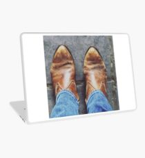 One step at a time Laptop Skin