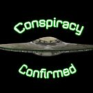 Conspiracy Confirmed UFO digitally painted by Chris Disano by Hyrnrg
