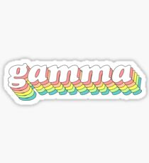 Regenbogen 3D 2.0 - Gamma Sticker