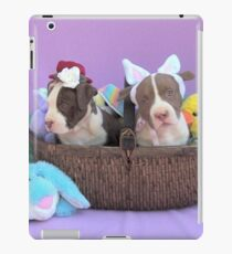 Easter Puppies iPad Case/Skin