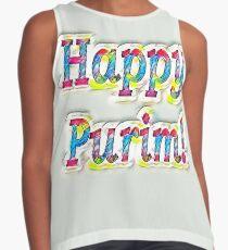 Happy Purim! Contrast Tank