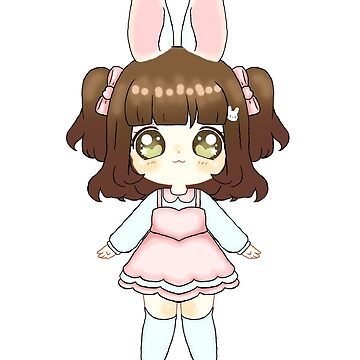 Easter Bunny Chibi (Light Skin Tone) by NicholiCosplay