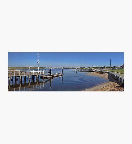 Werribee River - Boat ramp Photographic Print
