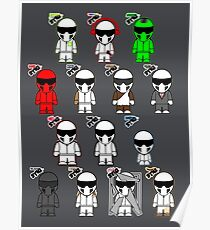 The Stig & His Cousins Poster