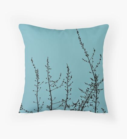 Waiting To Bloom II Throw Pillow