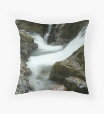 Group Of Falls On The Calapooia River 3 Throw Pillow