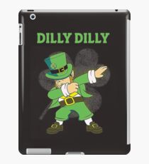Funny St. Patricks Day Dilly Dilly Shirt iPad Case/Skin