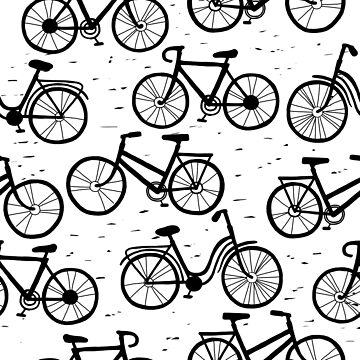 Bike pattern by sarknoem