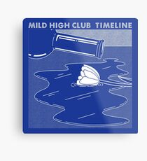 Mild High Club - Timeline Metallbild