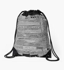 The Library Drawstring Bag