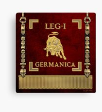 Standard of the 1st Germanic Legion - Vexilloid of Legio I Germanica Canvas Print