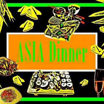 Asia Dinner  by GittaG74
