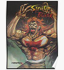 Blanka - Korean Street Fighter 2 Manga Poster