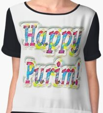 Happy Purim! Chiffon Top
